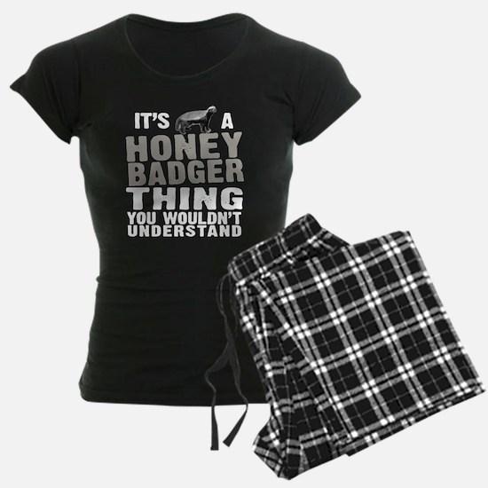 Honey Badger Thing Pajamas