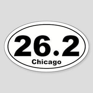 Chicago 26.2 Sticker