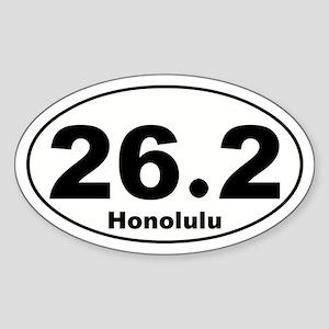 26.2 Honolulu Sticker