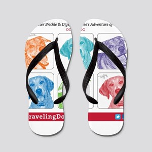 Brickle & Digby Pop Flip Flops