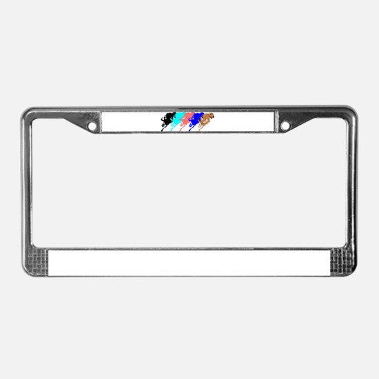 Funny Donation License Plate Frame