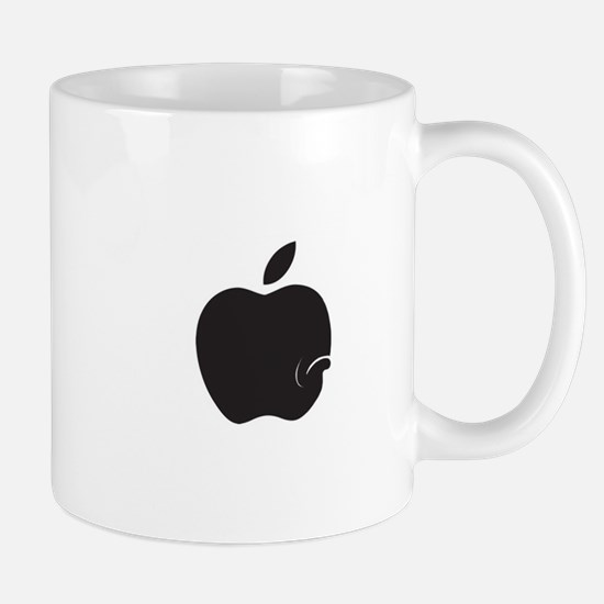 apple-sad copy Mugs