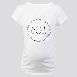5 Solas Maternity T-Shirt