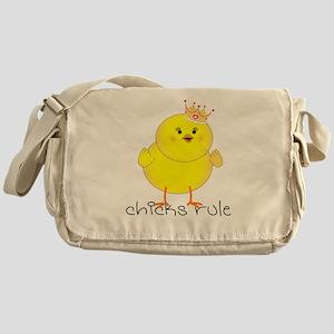 Chicks Rule Messenger Bag