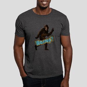 Bigfoot Sasquatch Yetti Wassup Dark T-Shirt