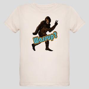 35b0187fa Bigfoot Sasquatch Yetti Wassup Organic Kids T-Shir