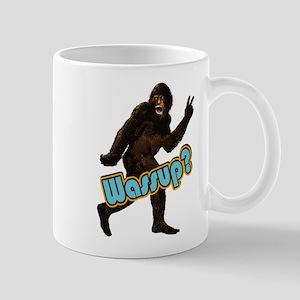Bigfoot Sasquatch Yetti Wassup Mug