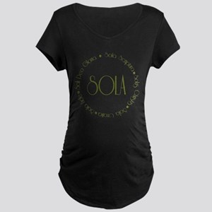5 Solas Maternity Dark T-Shirt