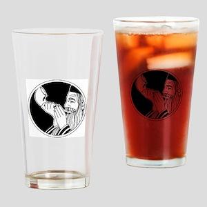 Rosh Hashana Drinking Glass