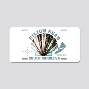 Hilton Head South Carolina Aluminum License Plate