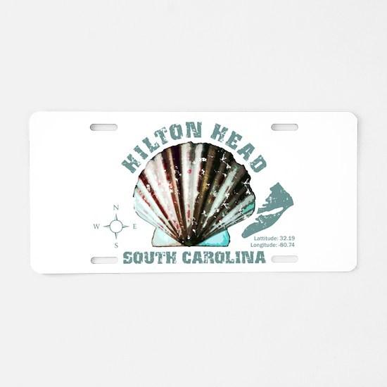 Hilton Head South Carolina Aluminum License Plate