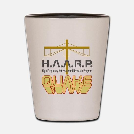 HAARP Quake Antenna Shot Glass