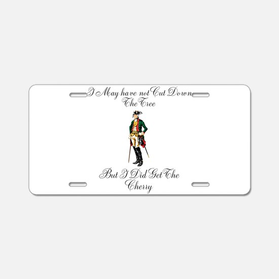 Funny Founding fathers Aluminum License Plate