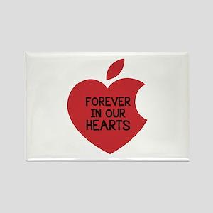 Steve Jobs Rectangle Magnet