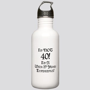 Classy 40th Birthday Stainless Water Bottle 1.0L