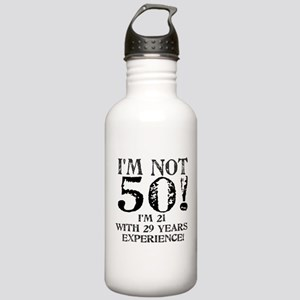 Fiftieth Birthday Stainless Water Bottle 1.0L
