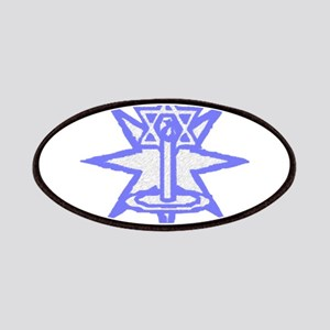 Jewish Candle Art Patches