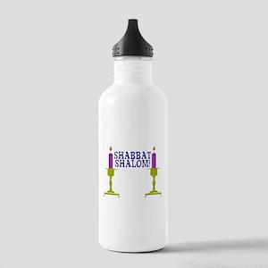 Shabbat Shalom! Stainless Water Bottle 1.0L