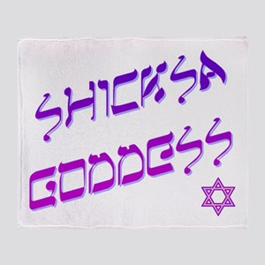 Shicksa Goddess Throw Blanket