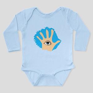 Hamsa Long Sleeve Infant Bodysuit