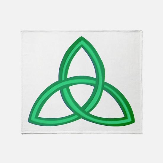 Trinity Knot Throw Blanket