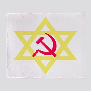 Russian Jewish Pride Throw Blanket