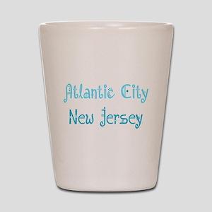 Atlantic City, NJ Shot Glass