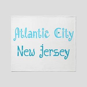 Atlantic City, NJ Throw Blanket