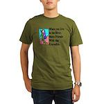 Crocodile Organic Men's T-Shirt (dark)