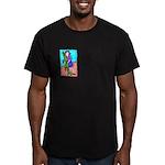 Crocodile Men's Fitted T-Shirt (dark)