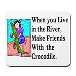 Crocodile Mousepad