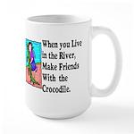 Crocodile Large Mug