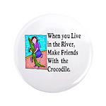 """Crocodile 3.5"""" Button (100 pack)"""