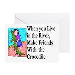 Crocodile Greeting Cards (Pk of 20)
