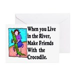 Crocodile Greeting Cards (Pk of 10)