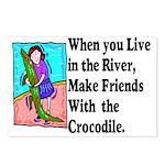 Crocodile Postcards (Package of 8)