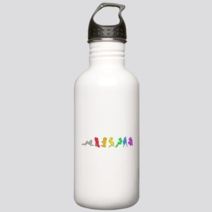Rainbow Girls Stainless Water Bottle 1.0L