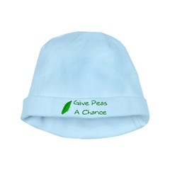 Give Peas a Chance baby hat