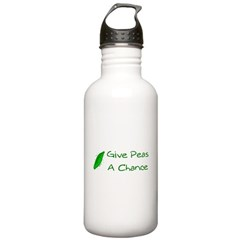 Give Peas a Chance Water Bottle