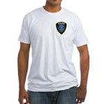 Conrail Police 2 image Fitted T-Shirt