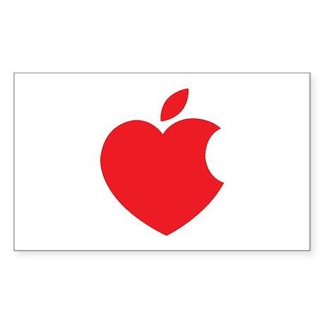 Steve Jobs Sticker (Rectangle)