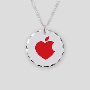 Steve Jobs Necklace Circle Charm