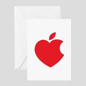 Apple computer greeting cards cafepress steve jobs greeting card m4hsunfo