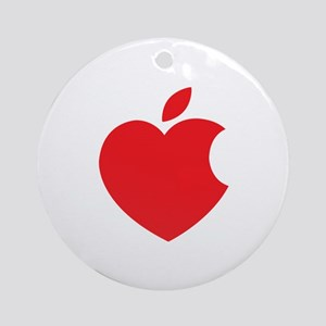 Steve Jobs Ornament (Round)