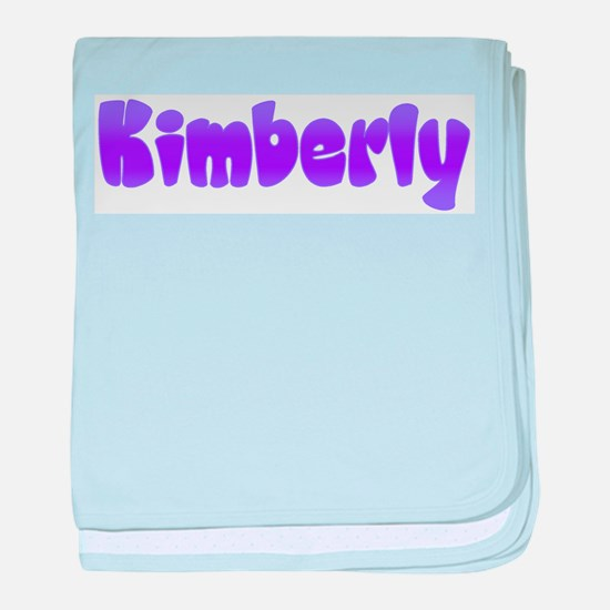 Kimberly baby blanket