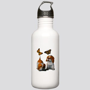 Butterfly's and Puppy's Stainless Water Bottle 1.0