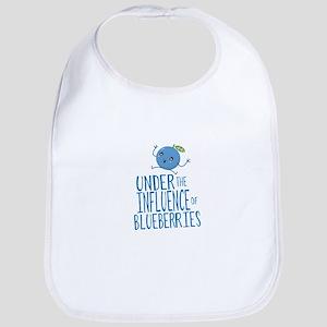 Under the Influence Blueberries Baby Bib