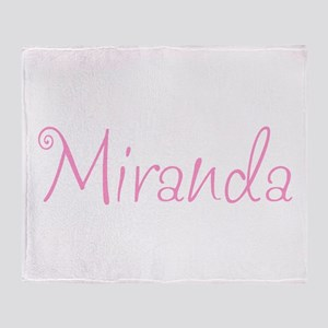 Miranda Throw Blanket
