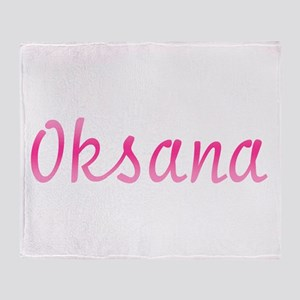 Oksana Throw Blanket