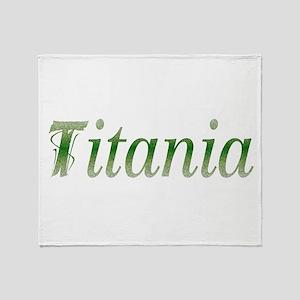 Titania Throw Blanket